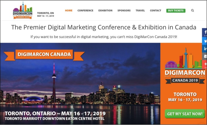 DigiMarCon Toronto