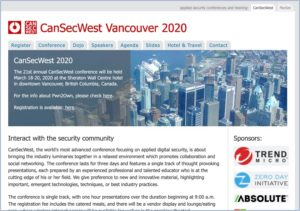 CanSecWest Vancouver