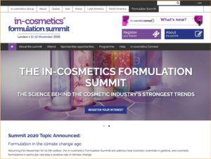 in-cosmetics formulation summit