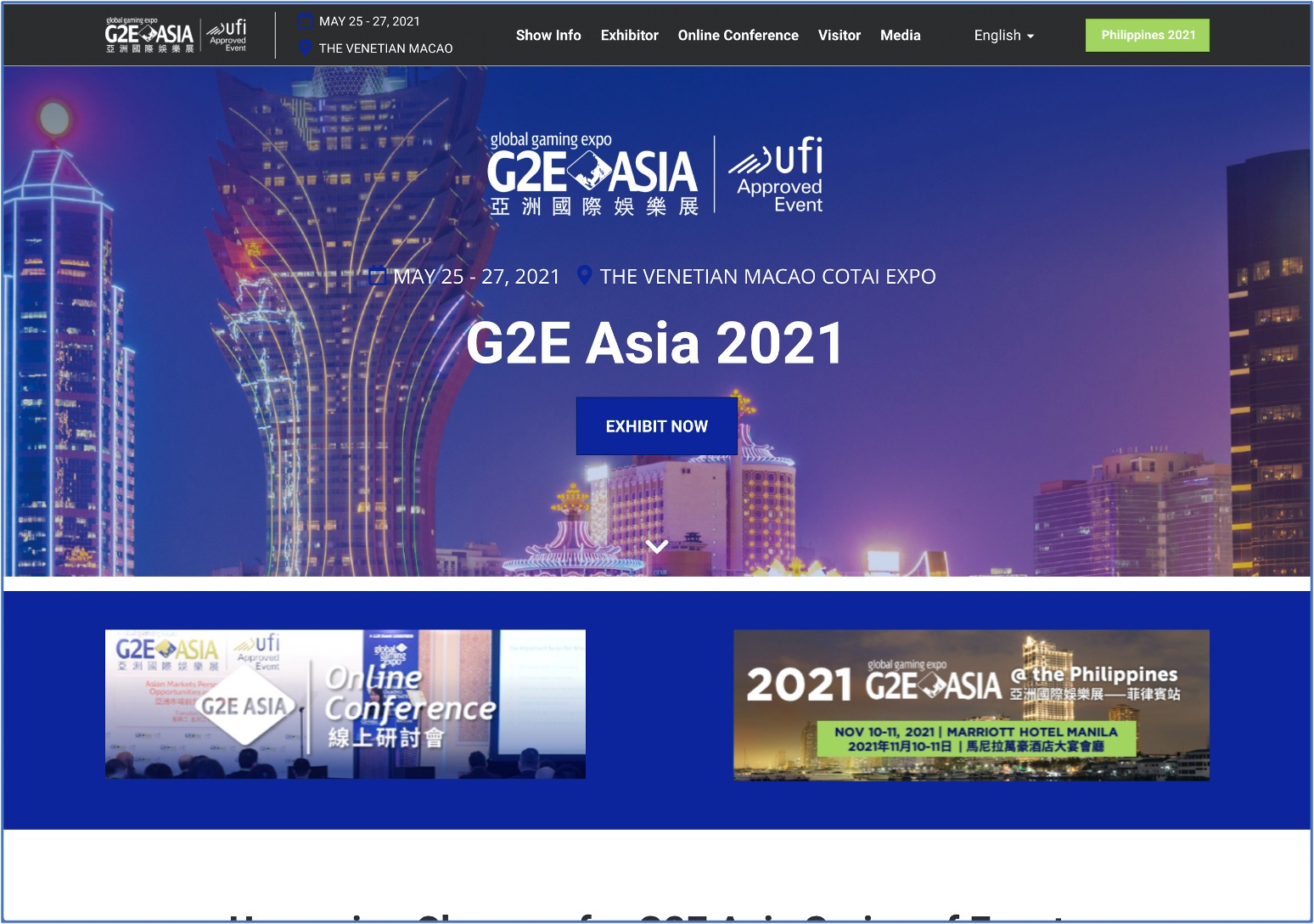 G2e Asia 2021