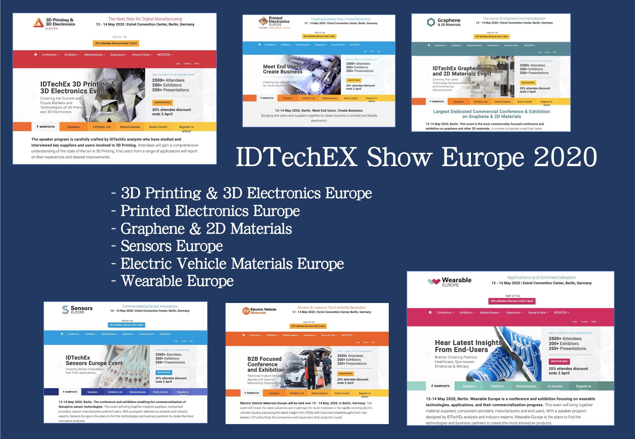 IDTechEX Show Europe